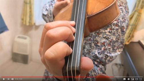 オンラインレッスン 藤松バイオリン教室